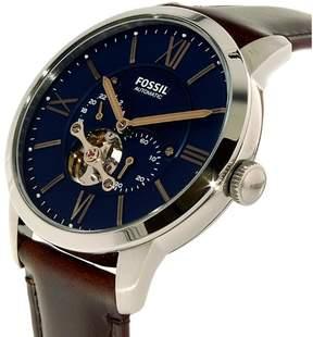 Fossil Men's ME3110 Townsman Leather Watch, 44mm