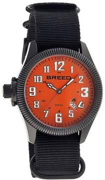 Breed Angelo Nylon-band Swiss Watch.