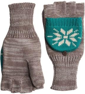 Woolrich Jacquard Popover Glomits Gloves - Fingerless (For Women)