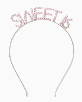 Sweet 16 Rhinestone Headband