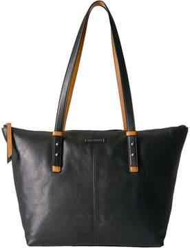 Vera Bradley Gallatin Tote Tote Handbags - BLACK - STYLE