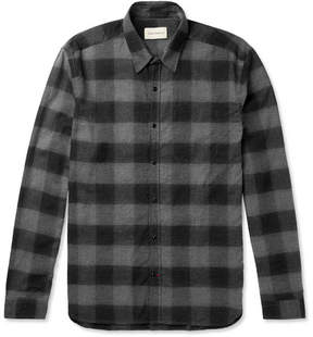 Oliver Spencer New York Special Checked Cotton-Flannel Shirt