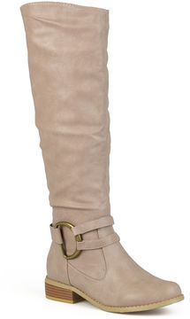 Journee Collection Charming Knee-High Riding Boots