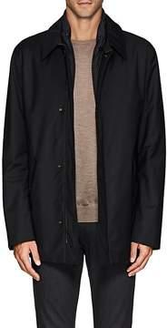 Canali Men's Wool Zip-Front Jacket
