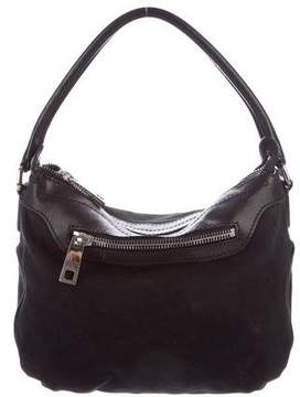 Marc Jacobs Leather-Trimmed Handle Bag - BLACK - STYLE