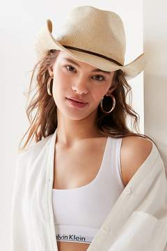 Urban Outfitters Straw Cowboy Hat