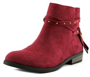 Jessica Simpson Hidalgo Youth Pointed Toe Suede Burgundy Bootie.
