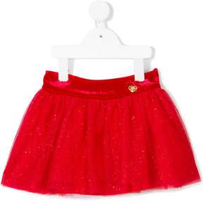 Miss Blumarine glitter tutu skirt