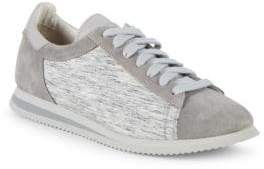 Brunello Cucinelli Lace-Up Suede Sneakers