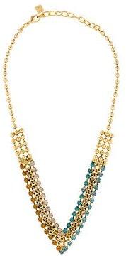 Dannijo Crystal Collar Necklace