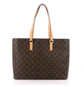 Louis Vuitton Pre-owned: Luco Handbag Monogram Canvas.