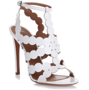 Alaia White leather sandal