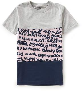 Levi's Big Boys 8-20 Short-Sleeve Color Block Tee