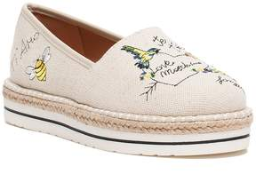 Love Moschino Embroidered Espadrille