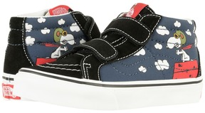 Vans Kids SK8-Mid Reissue V x Peanuts Flying Ace/Dress Blues) Kids Shoes