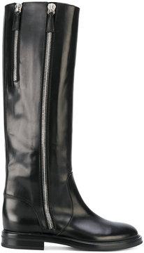 Casadei tall zipped boots