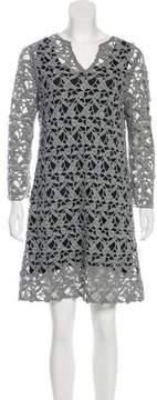 Maliparmi Embroidered Mini Dress w/ Tags