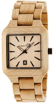 Earth Arapaho Collection ETHEW3601 Unisex Wood Watch with Wood Bracelet-Style Band