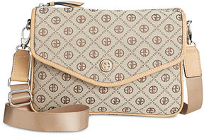 Giani Bernini Annabelle Chain Signature Square Crossbody, Created for Macy's