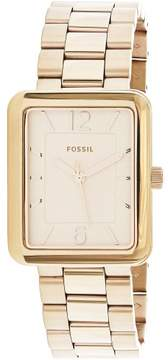 Fossil Women's Atwater ES4156 Rose-Gold Stainless-Steel Japanese Quartz Fashion Watch