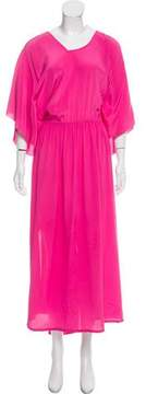 Antonio Berardi Silk Maxi Dress