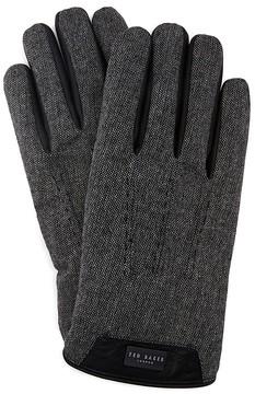 Ted Baker Leather Trim Gloves