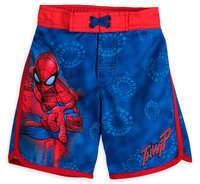 Disney Spider-Man Swim Trunks for Boys
