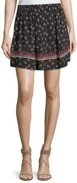 Ella Moss Florica Floral-Printed Mini Skirt