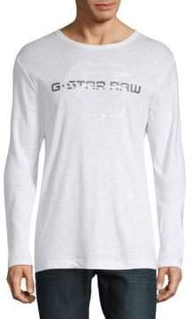 G Star Logo Long-Sleeve Shirt