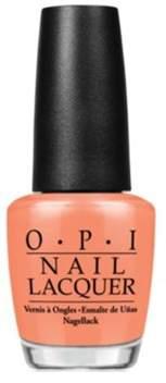 OPI Nail Lacquer Nail Polish, Is Mai Tai Crooked?.