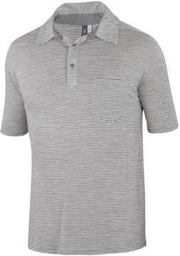 Ibex OD Heather Stripe Polo Shirt
