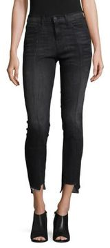 Flying Monkey Asymmetric Hem Jeans