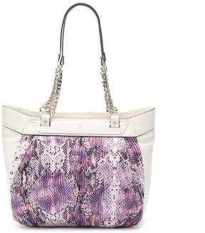 Jennifer Lopez Lisbeth Snakeskin Shopper