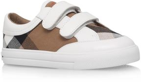 Burberry Mini Heacham Check Sneakers