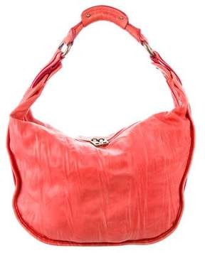 Marc Jacobs Distresed Leather Hobo