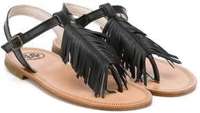 Pépé fringed sandals