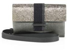 Brunello Cucinelli Monili & Metallic Leather Crossobdy Bag