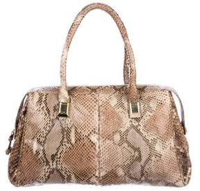 Judith Leiber Python Handle Bag