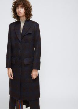 Aalto Brown Long Paneled Coat