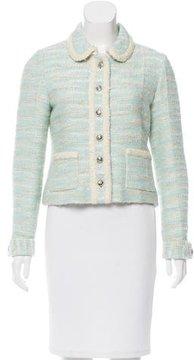 Chanel Tweed Long Sleeve Jacket