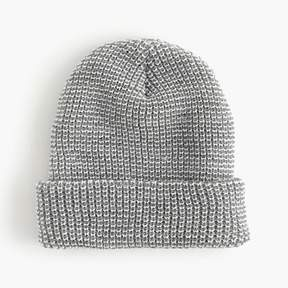 J.Crew Ribbed beanie in heather grey