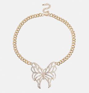 Avenue Stone Butterfly Pendant Necklace