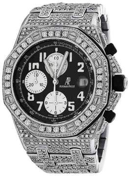 Audemars Piguet Royal Oak Offshore Black Dial Diamonds Watch