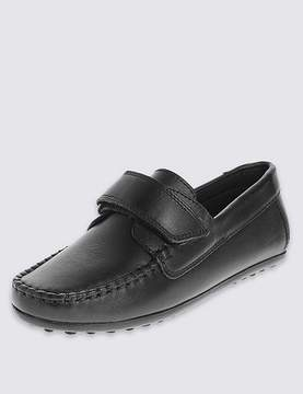 Marks and Spencer Kids' FreshfeetTM Leather loafers with Silver Technology