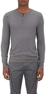ATM Anthony Thomas Melillo Men's Rib-Knit Henley