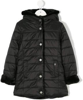 Karl Lagerfeld padded coat