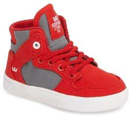 Supra Toddler Boy's 'Vaider' High Top Sneaker