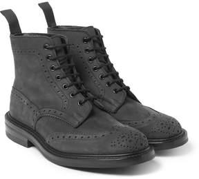 Tricker's Stow Nubuck Brogue Boots