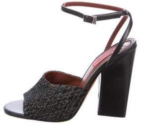 Missoni Glitter Ankle-Strap Sandals