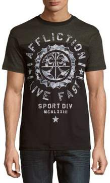 Affliction Athletic Army Short Sleeve Tee